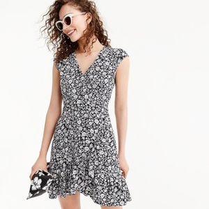 J.Crew Mercantile faux-wrap mini dress size 6